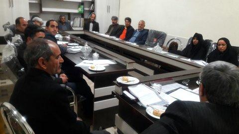 جلسه کمیسیونهای مشورتی شورای شهر بجستان