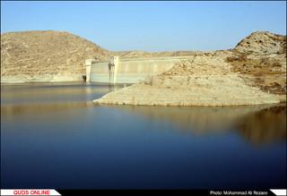 بحران آب در سد طرق مشهد