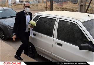 عروس در غبار !