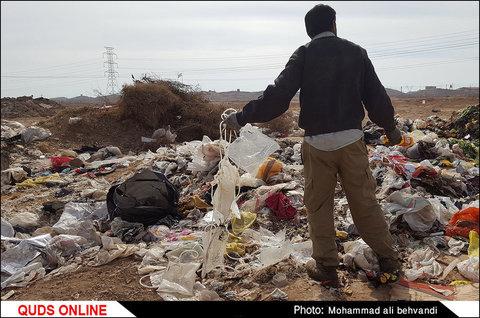 تخلیه زباله های شهری اهواز در نقطه ای نامعلوم/ مسئولین پاسخگو باشند