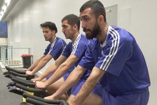 تمرین ریکاوری تیم ملی فوتبال