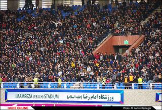 دیدار تیم های فوتبال مشکی پوشان-تراکتورسازی