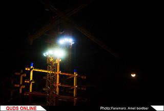 ماه گرفتگی در آسمان ایران