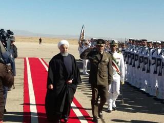 رئیس جمهور در کرمان