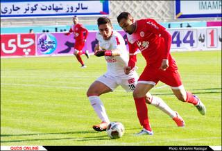 دیدار تیم های فوتبال پدیده -تراکتورسازی تبریز