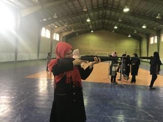 مسابقات تیر اندازی شهرستان جوین