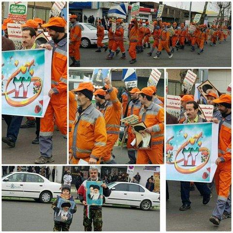راهپیمایی 22 بهمن-گیلان