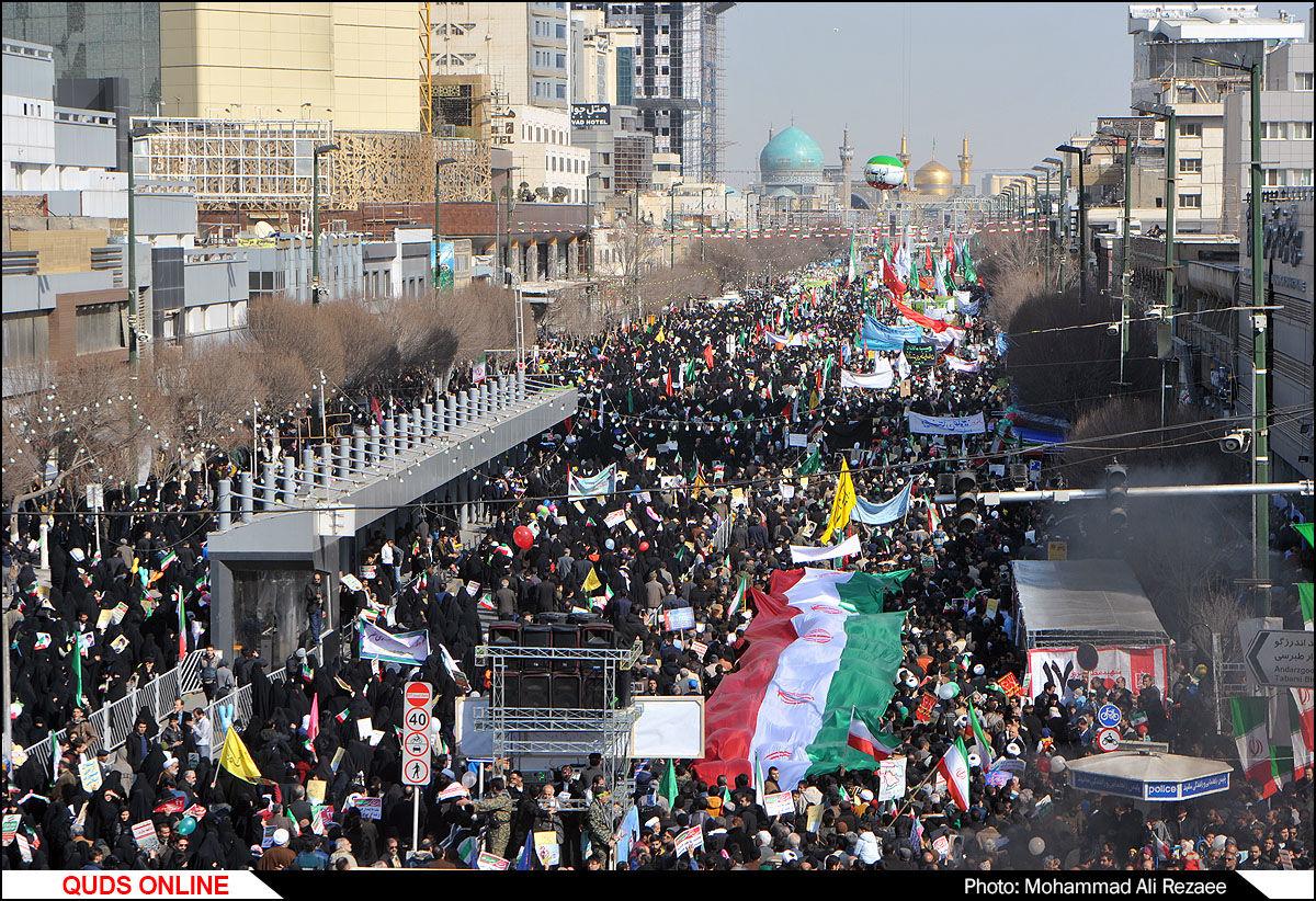 راهپیمایی ۲۲ بهمن در مشهد/گزارش تصویری2