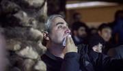 اشک های حاتمی کیا مقابل خانواده شهدای مدافع حرم پیش از اکران «به وقت شام »