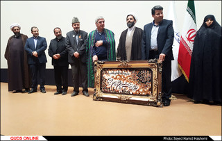 نمایش فیلم به وقت شام باحضور ابراهیم حاتمی کیا در مشهد