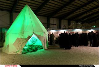 """گزارش تصویری: چهارمین نمایشگاه و سوگواره """"نگین شکسته"""""""