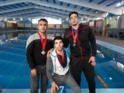 کسب ۱۱ مدال رنگارنگ توسط شناگران لرستانی در مسابقات باشگاهی خرمشهر