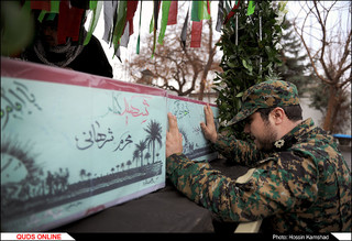 اجتماع عزاداران فاطمی در مشهد مقدس به همراه تشییع شهداء مدافع حرم و گمنام / گزارش تصویری 2