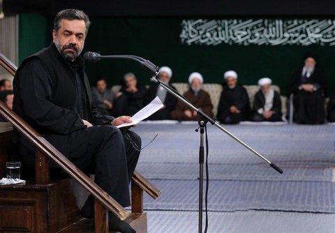 «محمود کریمی» در حسینیه امام خمینی (ره)