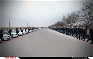 رزمایش بزرگ اقتدار و امنیت در حاشیه شهر مشهد مقدس / گزارش تصویری