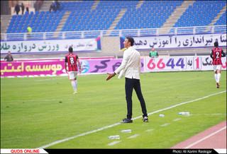 دیدار تیم های فوتبال مشکی پوشان - سپاهان