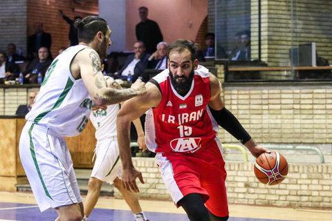 تیم ملی بسکتبال ایران - حامد حدادی