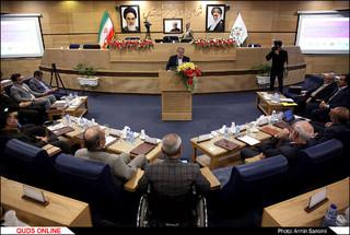 افتتاحیه نخستین نشست هیات رِئیسه شوراهای اسلامی کلانشهرهای کشور در مشهد