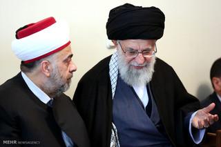 رهبر انقلاب در دیدار وزیر اوقاف سوریه