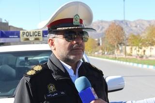سرهنگ رضا همتی زاده رئیس پلیس راه ایلام