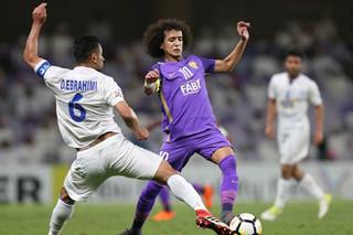 دیدار تیم های فوتبال استقلال و العین امارات