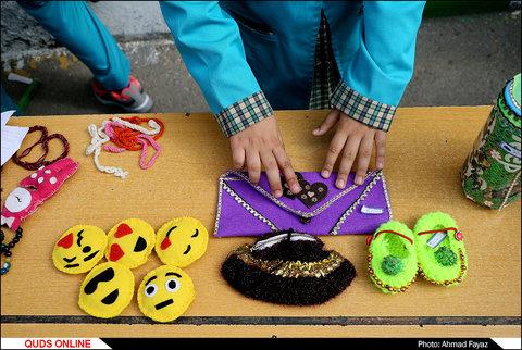 جشنواره کارآفرینان کوچک دانش آموزی با متفاوت ترین بازارچه نوروزی- گزارش تصویری