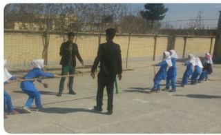 المپیاد ورزش های همگانی در روستای مومن آباد تربت جام
