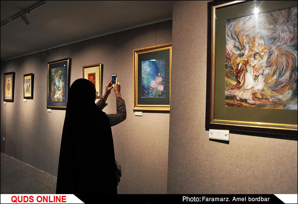 افتتاح بزرگترین نگارخانه شهر مشهد / گزارش تصویری