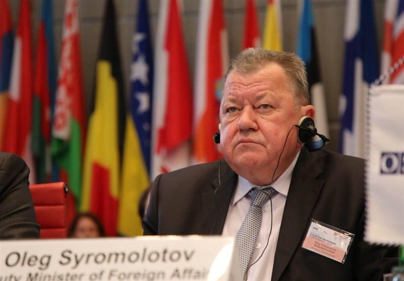 «اولگ سیرمولوتوف» معاون وزیر خارجه روسیه