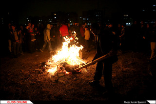 چهار شنبه سوری در مشهد