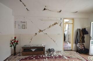 منازل زلزله زده
