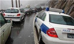 رئیس مرکز کنترل ترافیک راهور ناجا خبر داد ترافیک نیمهسنگین در باند جنوبی آزادراه کرج قزوین/ بارش برف و باران در 10 استان کشور