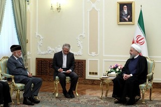 رئیس جمهور در دیدار وزیر خارجه عمان