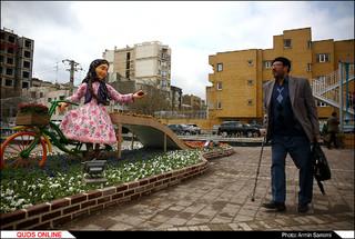 المان ها و فضا سازی شهری در آستانه نوروز