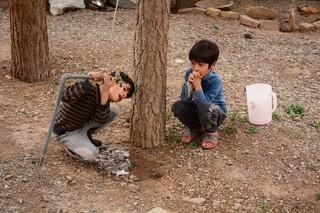 لایروبی و احیای چاه آب شرب در مناطق محروم تربت جام