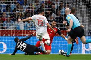 دیدار تیم های ملی فوتبال اسپانیا و آرژانتین
