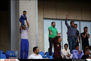 دیدار تیم های مشکی پوشان و استقلال اهواز