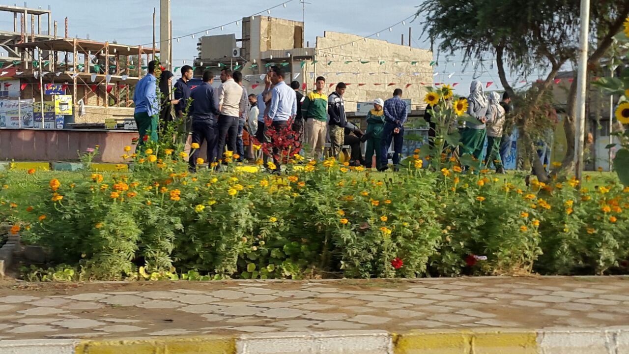 اعتراض کارگران شهرداری اهواز