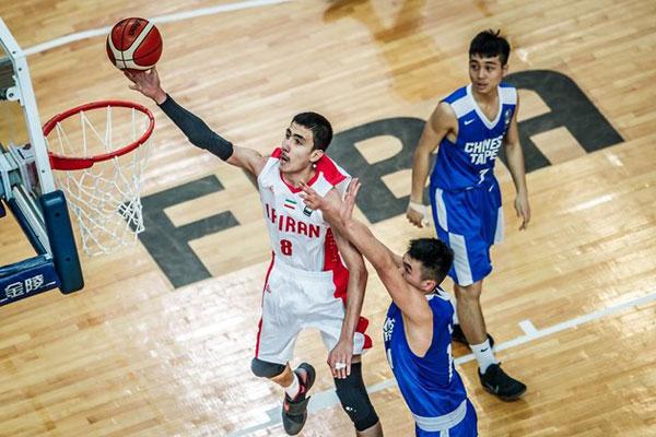 تیم بسکتبال نوجوانان ایران