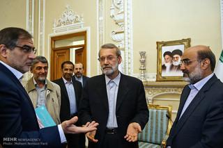 لاریجانی در دیدار مدیران رسانه ملی: