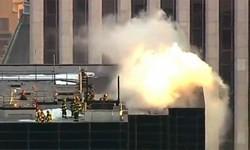 آتش سوزی برج ترامپ