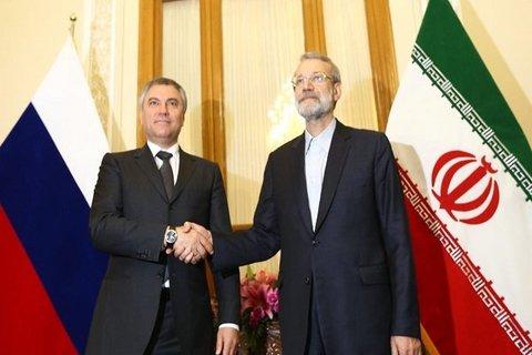 لاریجانی و همتای روس