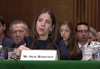 «سیگال مندلکر»، معاون وزارت خزانهداری آمریکا