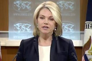 «هیتر نائورت» سخنگوی وزارت خارجه آمریکا
