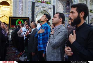 اجتماع عظيم هيئت های مذهبی درحرم مطهر امام رضا(ع)
