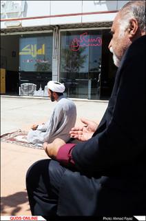 اینجا هر روز نماز جماعت برگزار می شود- گزارش تصویری