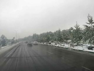 برف بهاری البرز