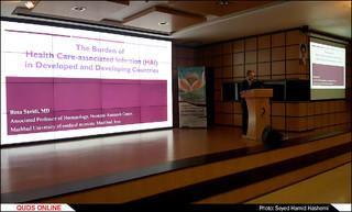 کنفرانس کنترل عفونتهای بیمارستانی در بیمارستان رضوی مشهد/گزارش تصویری