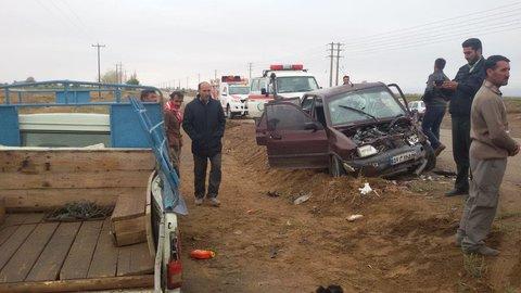 حوداث جاده های شهرستان جوین