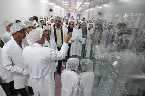 شرکت سامان داروی هشتم  آستان قدس رضوی